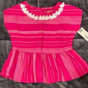 NWT Genuine Kids 2T Dramatic Pink Shirt